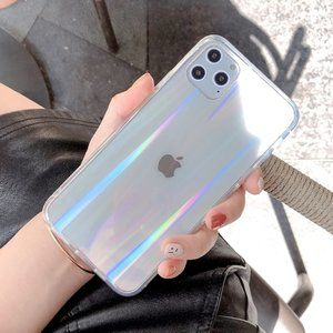 NEW iPhone 12/11/Pro/Max/XR Laser Clear case